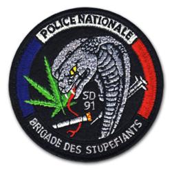 Ecussons Police Nationale - JIMBO Écussons, Ecusson brodé, fanions brodés en série sur mesure